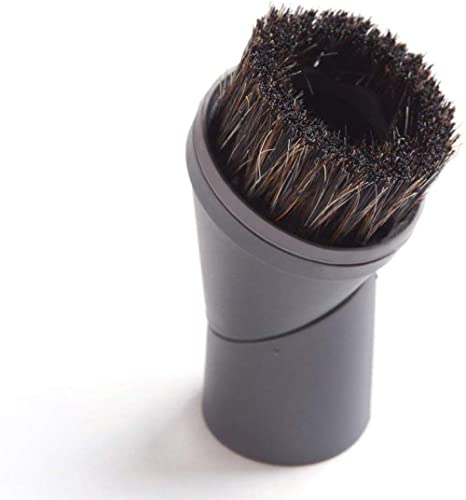 EZ SPARES Vacuum Cleaner Universal Horsehair Dust Small Brush Accepting 1 3/8 35mm Diameter for For All Brands Like M...