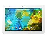 BQ Edison 3 - Tablet de 10.1' (Bluetooh 4.0 + WiFi, 32 GB, 2 GB RAM, Android 4.4), blanco