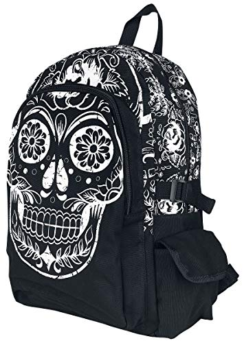 Banned Alternative Collins Backpack Frauen Rucksack schwarz
