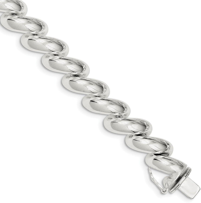 Beautiful Sterling silver 925 sterling Sterling Silver 11.0mm San Marco Bracelet