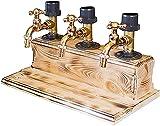 CANGQXIALENGY Whiskey-Bierzapfanlage Bierzapfhähne für Bars und Häuser, Getränkestationen (drei...