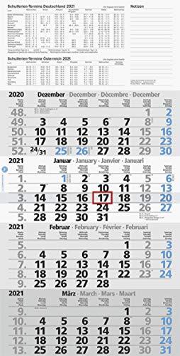 Wandkalender/ Viermonatskalender Brunnen, Länge: 45cm Breite: 30cm