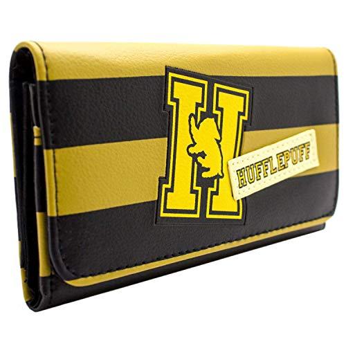 Harry Potter Hufflepuff Haus-Logo Gelb Portemonnaie Geldbörse