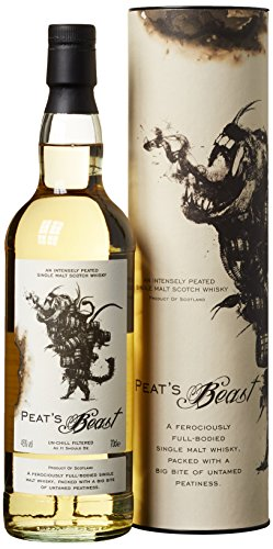 Peat's Beast Peated Single Malt Scotch Whisky (1 x 0.7 l)