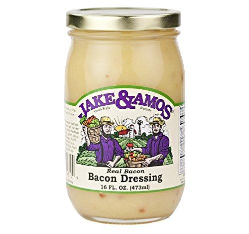 Jake & Amos Real Bacon Salad Dressing, 16 Oz. Jar