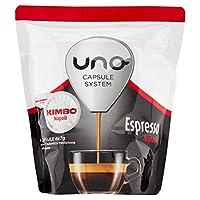 kimbo capsule di caffè - compatibile con il sistema di capsule uno - espresso napoli (6 x 16 capsules)