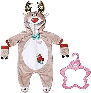 BABY born Grenouillère Renne pour poupées de 43 cm - Pour les petites mains, jeu créatif développe l'empathie & les aptitu...