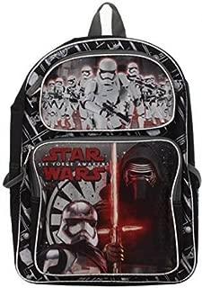 Backpack - Star Wars Ep7 - 16 Kylo Ren & Stormtroopers New SWE7B