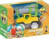 Playmobil - Vehículo de Perforación Juguetes para La Playa, Multicolor, 70064