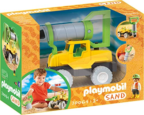 PLAYMOBIL Sand 70064 Bohrfahrzeug, Ab 2 Jahren