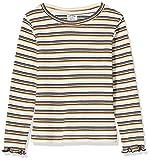 Charanga CURBALE Camiseta de Manga Larga, Multicolor (Listado 852), 152 (Tamaño del Fabricante:11-12) para Niñas