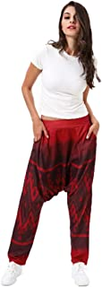 Aiweijia Women's Harem Pants Sports Trousers Yoga Pants Digital Printing Loose Woman Exercise and Fitness Trousers Sportsw...