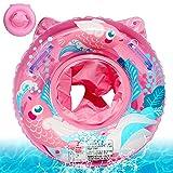 Baby Schwimmring,Rosa Schwimmhilfe Baby,Aufblasbarer schwimmreifen Kleinkind,Float Kinder Schwimmring,Kinder Schwimmreifen Spielzeug,Schwimmhilfe für Kleinkind 6 Monate bis 36 Monate