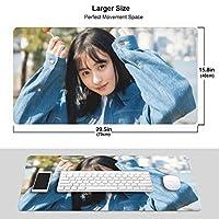 ?藤?1 マウスパッド ファッション 滑り止め防水 耐久性 高級感 ゲーミング 大型 マウスパッド オフィス最適