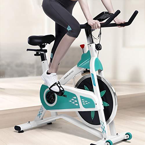 CCHM Cubierta Fitness Bicicleta estática, Inicio Deporte Entrenador Ciclo de la Bici, Resistencia con Velocidad, Bajar de Peso Equipo de la Aptitud