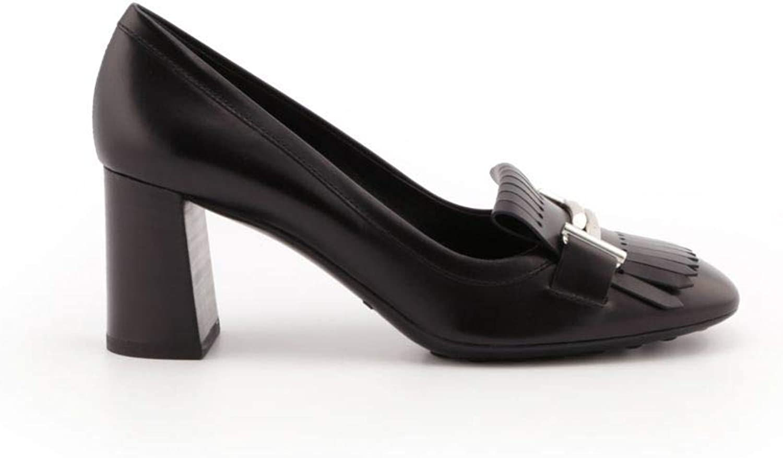 Tod's Woherrar XXW0ZM0V50BSSB999 svart svart svart läder Pumpar  Specialerbjudande