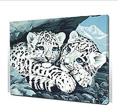 Frameloze Schilderij door Aantal Kleurplaten door Getallen voor Home Decor Hand Geschilderd Canvas Schilderij 30 * 40Cm Lu...