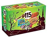 HerSHEY'S Assortiment de chocolats et de bonbons d'Halloween 115 carats – 1,15 kg – Comprend Reese, Reese's Pieces, OH Henry! et Jolly Rancher Snacks.