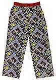 Despicable Me Minions Boys Pajama Pants Long Bottom PJ for Boys, 100% Polyester, Boy's Size 6/7 Gray