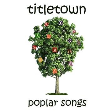 Poplar Songs
