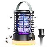 SGAINUL Mosquito Killer, Zapper per zanzare impermeabili con luce, Funzionamento continuo per insetticida 2000V 36H, Zapper elettrico per insetti per campo, giardino, interno