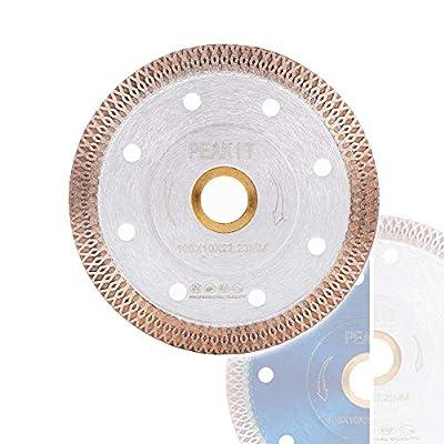 Peakit Fast Tile Blade Porcelain Tile Cutter Ceramic Cutting Disc Diamond Wheel for Grinder or Dry Wet Tile Saw