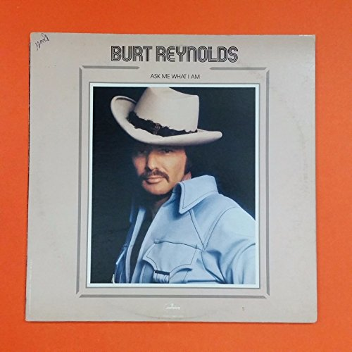 BURT REYNOLDS Ask Me What I Am SRM 1 693 LP Vinyl VG+ GF w/ Cutout Poster