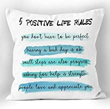 Inspirational Pillows With Quotes