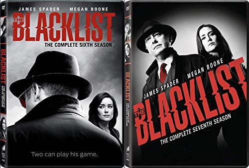 The Blacklist - Season 6 and 7 (DVD, 2020)
