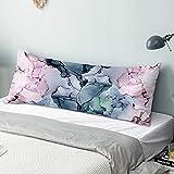 ZUMMINO Body Pillow Cover/Case with Zipper Closure 20x54 inches,...