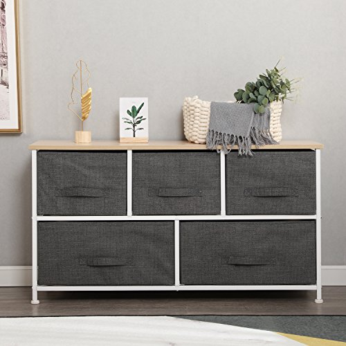 SogesHome SH-WK-106-GY - Cassettiera multiuso per camera da letto, soggiorno, dormitorio, lavanderia, grigio