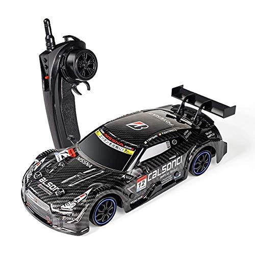 Coche de control remoto de 4 canales, 2.4Ghz 4WD Coches de juguete de carreras de alta velocidad, 40KM / h 1:16 Vehículo de juguete de carreras de coches electrónicos todoterreno Drift (coche RC)
