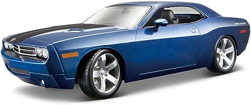 Dodge Challenger Concept, Blau - Maisto Premiere 36138 - 1 18 Scale Diecast Model Toy Car