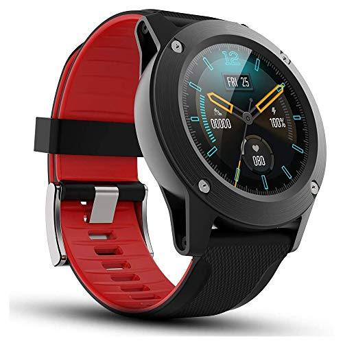 """READ Smart Watch Fitness Tracker for Android Phones and iOS Phones with 1.28"""" Touch Screen Heart Rate Monitor Sleep Monitor with Compass Barometer Step Counter IP67 Waterproof for Men"""