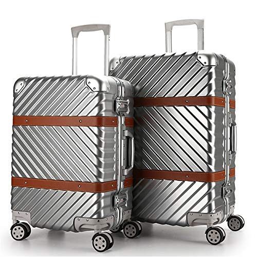 Buy Discount Travel Spinner Luggage Double TSA Lock Design Spinner Travel Luggage Trolley Cases 2 Pi...