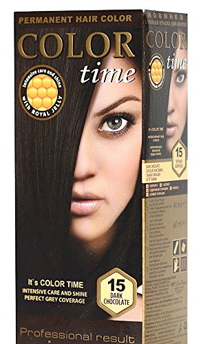 Permanente haarverf met royal jelly kleur 15 Pure chocolade