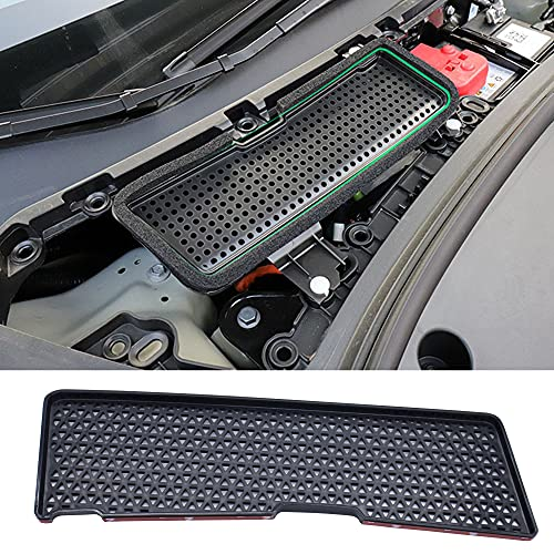 Woopeey Air Flow Vent Cover for 2021 Tesla Model 3 Air Intake Grille Protection Cover Filter Air Vent Cover, ABS Plastic