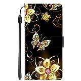 Hongjian Coque pour Samsung Galaxy S8+ Plus PU Leather Flip + TPU Soft Silicone Case Cover