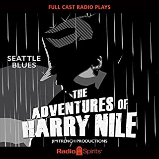 Harry Nile: Seattle Blues audiobook cover art