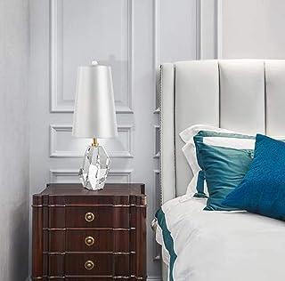 Lampe de Table Lampe Italien Post-Moderne Minimaliste Nordic Light Cristial Cristal Personnalité Creative Salon Chambre à ...