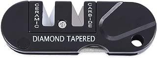 Kitchen Folding Knife Sharpening Blade Repair Tungsten Steel Portable Outdoor Pocket Ceramic Carbide Diamond Cone Tool