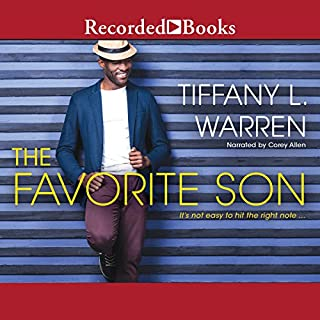 The Favorite Son audiobook cover art