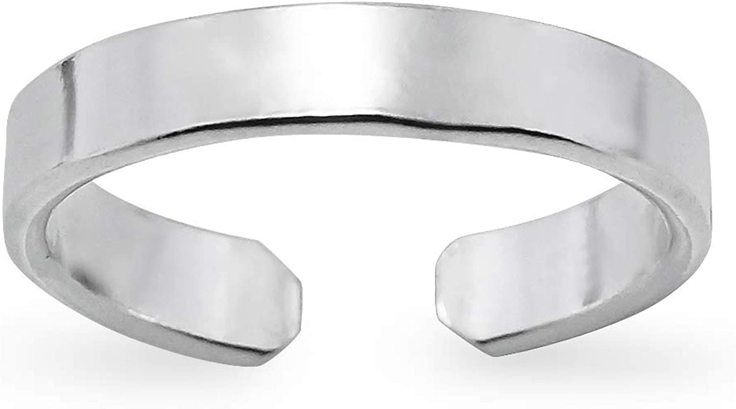 Silverline Jewelry 925 Sterling Silver Max 85% OFF Minimalist Ring OFFicial store Toe Simp