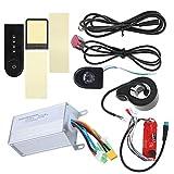 VGEBY Controlador sin escobillas 36V 350W con Luces y Conjunto Completo del Acelerador para Scooter eléctrico Xiaomi M365