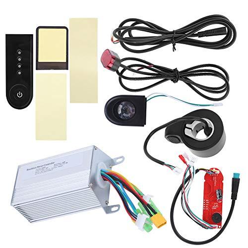 VGEBY Controlador sin escobillas 36V 350W con Luces y Conjunto Completo del...