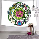 Cdsfud Santa Cruz Slime Balls Vomits Tapestry Wall Hanging, with Art Home Decorations for Living Room Bedroom Dorm