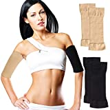 Toulifly Arm Shaper For Women,Arm Shaper,Arm Slimming Sleeves,Arm Compression Sleeves For Women,Burn Fat