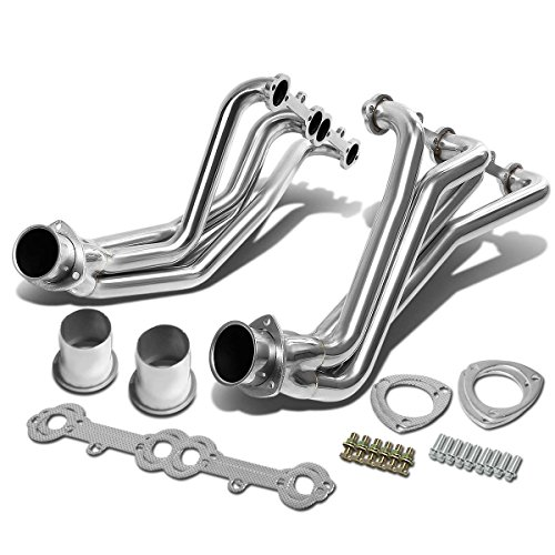 DNA Motoring HDS-CC63 Chrome Stainless Steel Exhaust Header Manifold