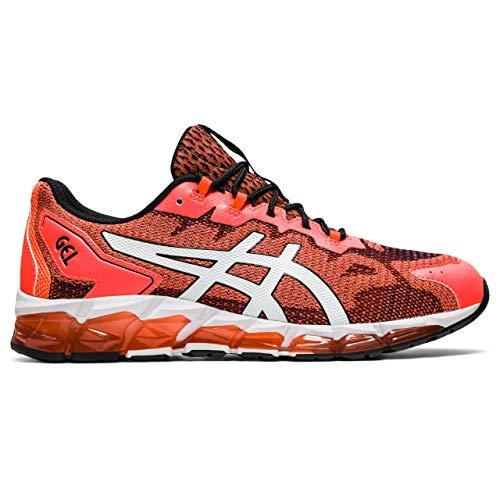 ASICS Chaussures de Course pour Homme Gel-Quantum 360 6 Road - - Rouge Vif Blanc, 45 EU