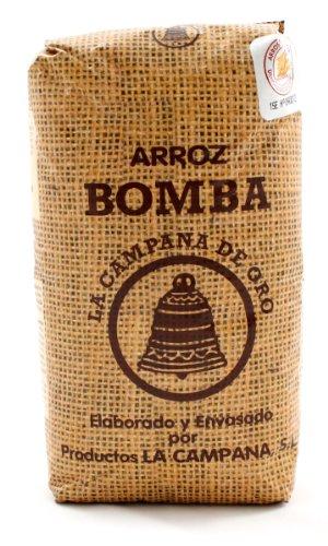 La Campana: Arroz Bomba D.O. Valencia - Bomba-Reis für Paella - 1kg